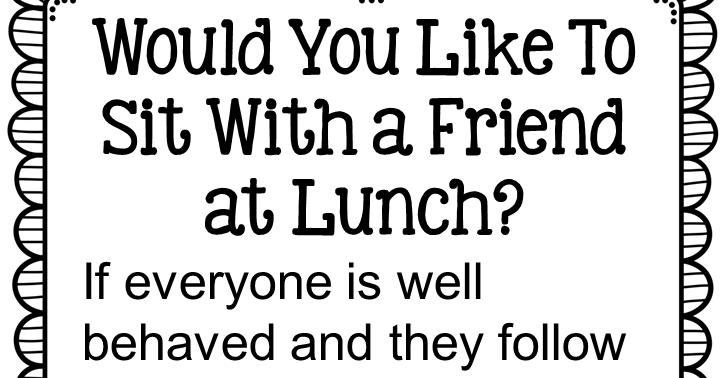 Classroom Freebies: Fern Smith's FREE Line Behavior Poster