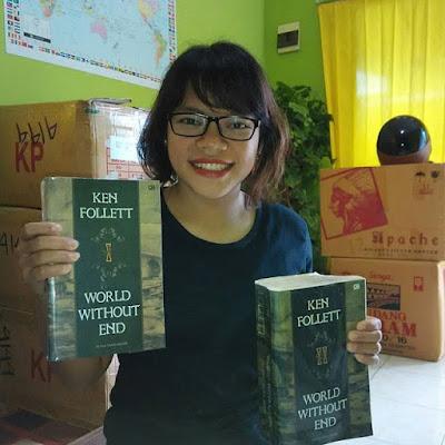 10 Alasan Kenapa Harus membaca Buku. Dunia Tanpa Akhir oleh Ken Follet. 10 Alasan Kenapa Harus membaca Buku