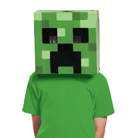 Minecraft Disguise Creeper Mask Gadget