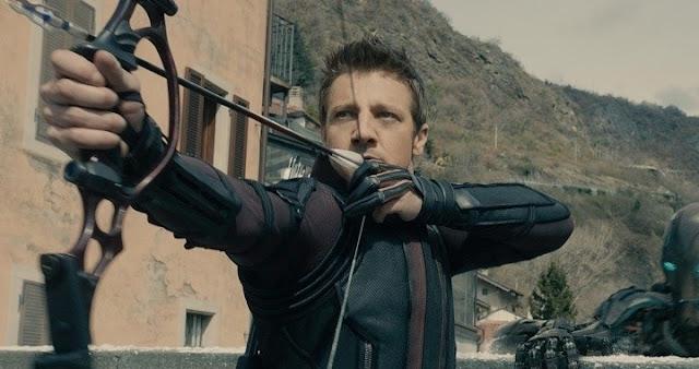 Jeremy Renner en Avengers: Age of Ultron