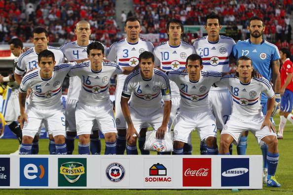 Formación de Paraguay ante Chile, Clasificatorias Brasil 2014, 15 de noviembre de 2011