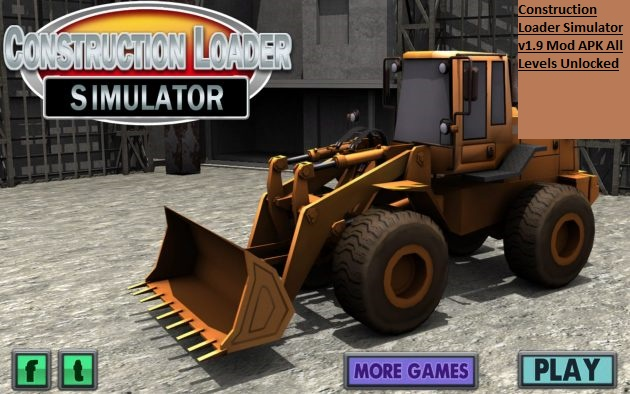 Construction Loader Simulator v1.9 Mod APK All Levels Unlocked