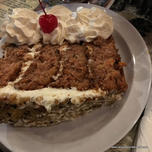 carrot cake at Big Texan Steak Ranch in Amarillo, Texas