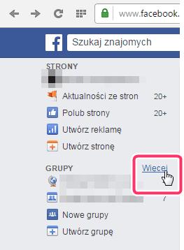 grupa facebook - jak opuścić