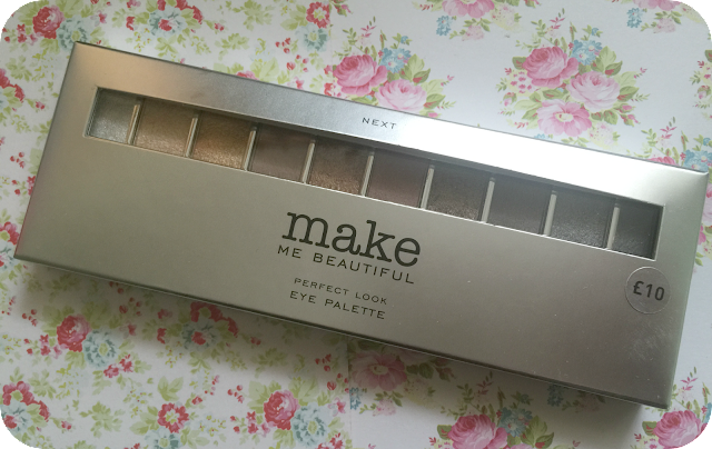 Next make me beautiful perfect look eyeshadow palette