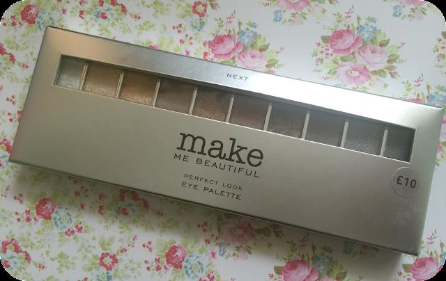 Next make me beautiful perfect look eyeshadow palette