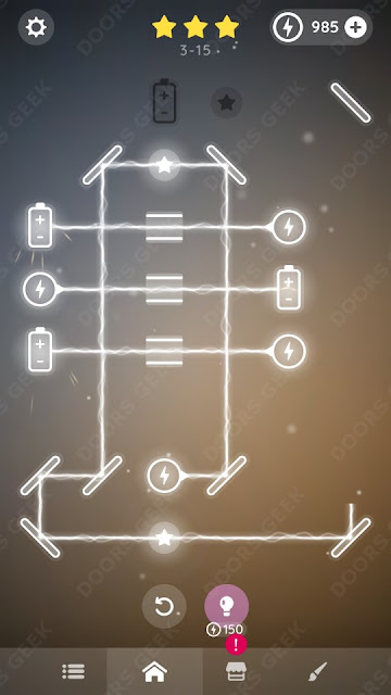 Laser Overload [Intermediate] Level 3-15 Solution, Walkthrough, Cheats
