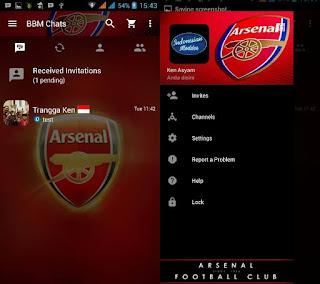 BBM Mod Arsenal F.C V3.2.3.11 Apk
