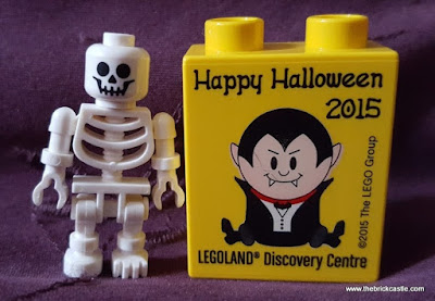 Happy LEGO Halloween Skeleton LDC Manchester