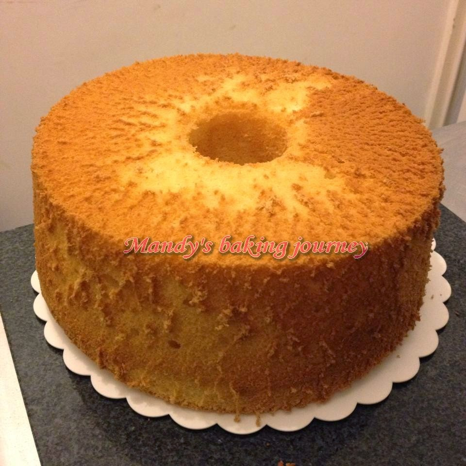Baking Chiffon Cake In Glass