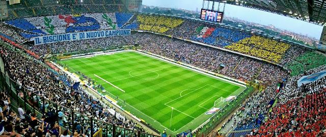 Informações sobre o Estádio Giuseppe Meazza em Milão