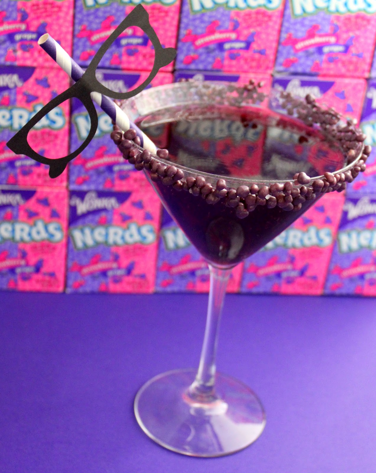 Doo Dah Talk Nerdy To Me A Grape Nerd Cocktail