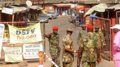 grenade explosion abacha barracks abuja
