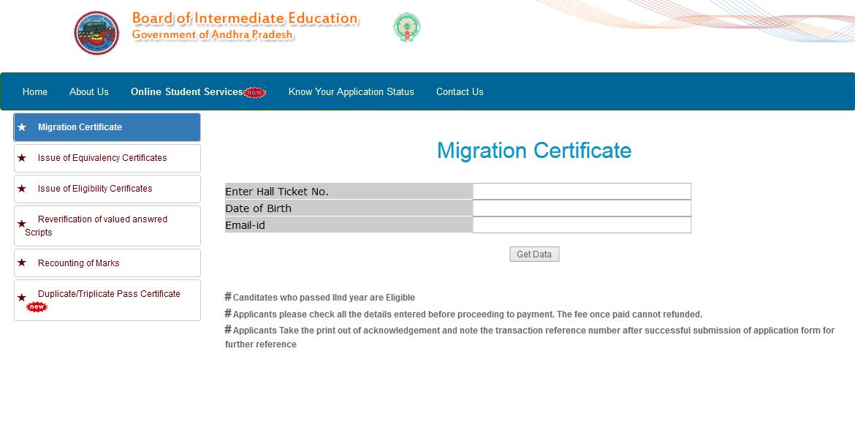 How To Get Intermediate Duplicate Certificate In Ap