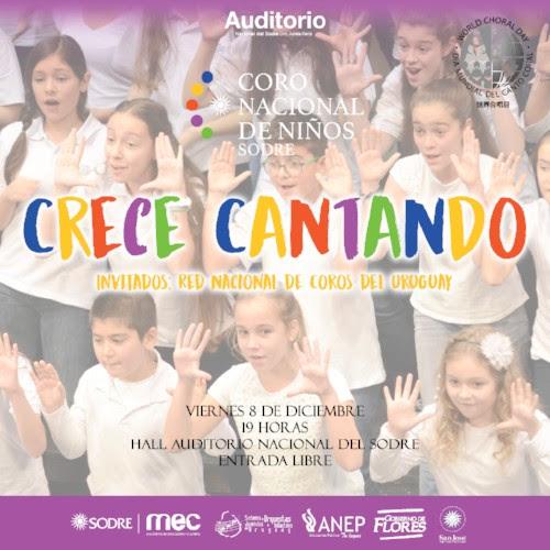 El Coro Nacional de Niños del Sodre celebra el Día Mundial del Canto Coral