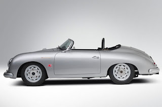 1958 Porsche 356 Speedster Convertible Side