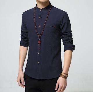 Kemeja Pria Model Terbaru Korea Juni 2016