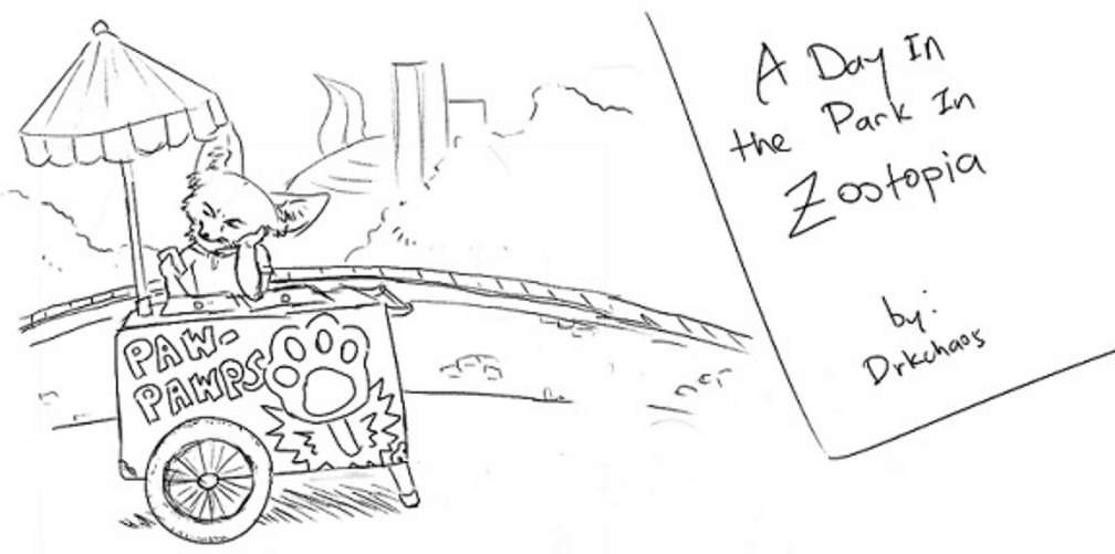 Comic: A Day in the Park in Zootopia (by DrkChaos