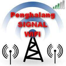yang menghalangi kekuatan sinyal WiFi Ponsel