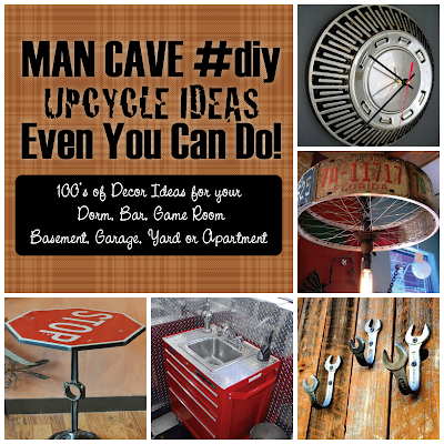 Upcycled Man Cave Ideas for Bar Apartment Garage Dorm More