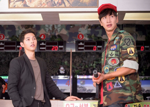 Lee Kwang Soo Descendants Of The Sun Cameo, Song Joong Ki and Lee Kwang Soo, Descendants Of The Sun, Descendants Of The Sun Korean Drama, Reasons to watch Descendants of the Sun
