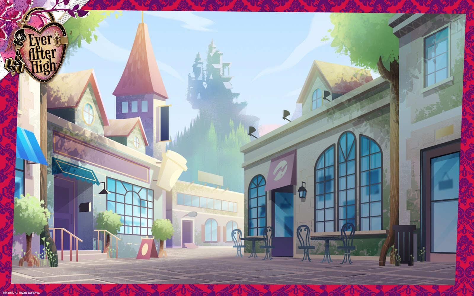 monsterhighdaily: ever after high wallpapers