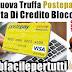 """Attenzione Alla Nuova Truffa Postepay """"Carta Di Credito Bloccata"""""""