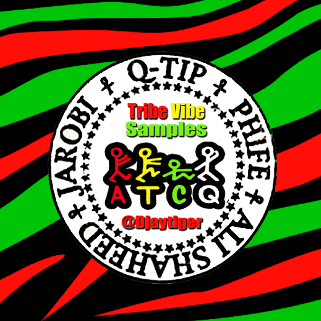 Dj Tiger Presents A Tribe Called Quest - Original Tribe Vibe Samples