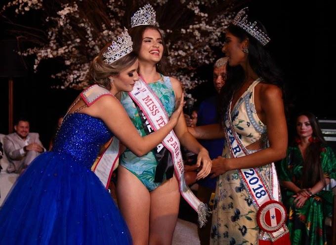 Candidata de Capanema vence o concurso Miss Teen Pará 2018