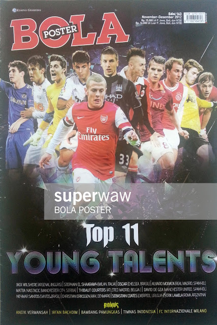 BOLA POSTER: TOP 11 YOUNG TALENTS