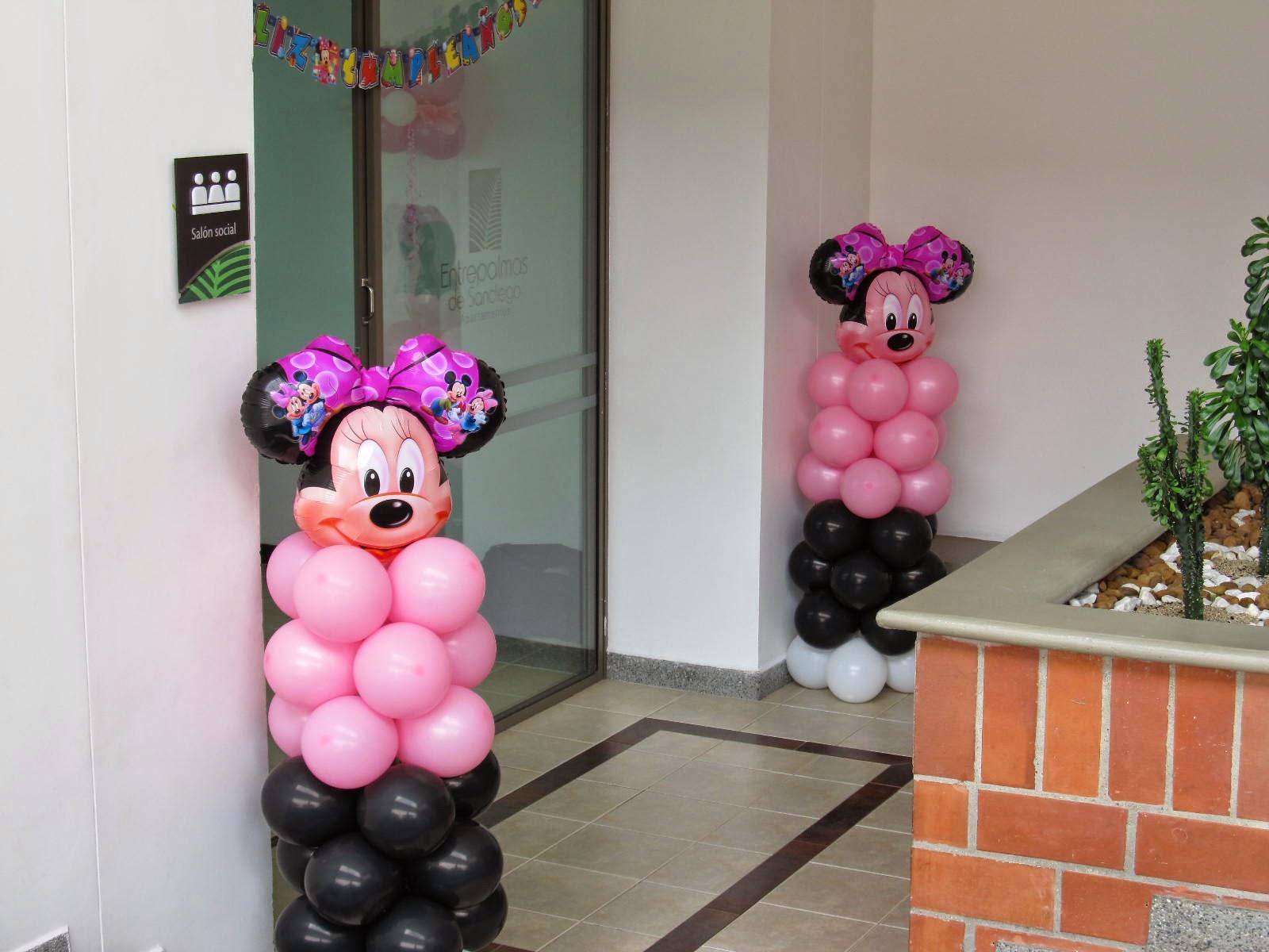 Decoraci n fiesta minnie mouse fiestas infantiles y for Decoracion de minnie mouse