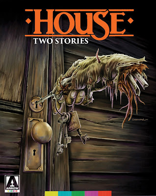 House two stories box art