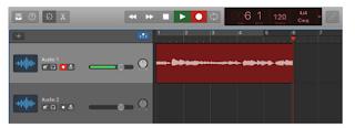 Garageband Audio Input