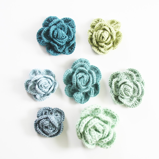 roses, crochet roses, multi petal crochet roses, crafts, crochet pattern, Anne Butera, My Giant Strawberry