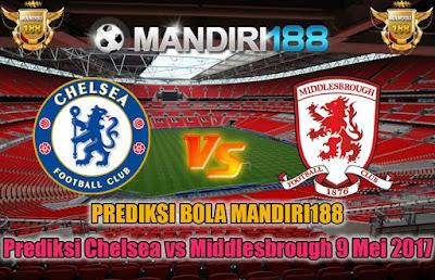 AGEN BOLA - Prediksi Chelsea vs Middlesbrough 9 Mei 2017