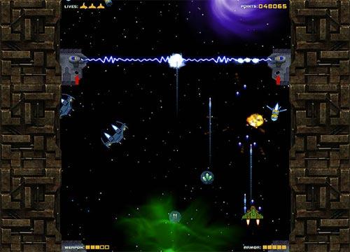 لعبة الاكشن واطلاق النار Last Space Fighter الكلاسيكية