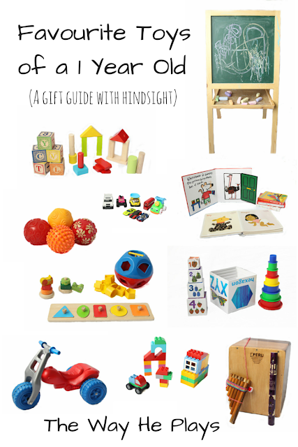 Favourite Toys of a 1 Year Old - A gift guide with hindsight