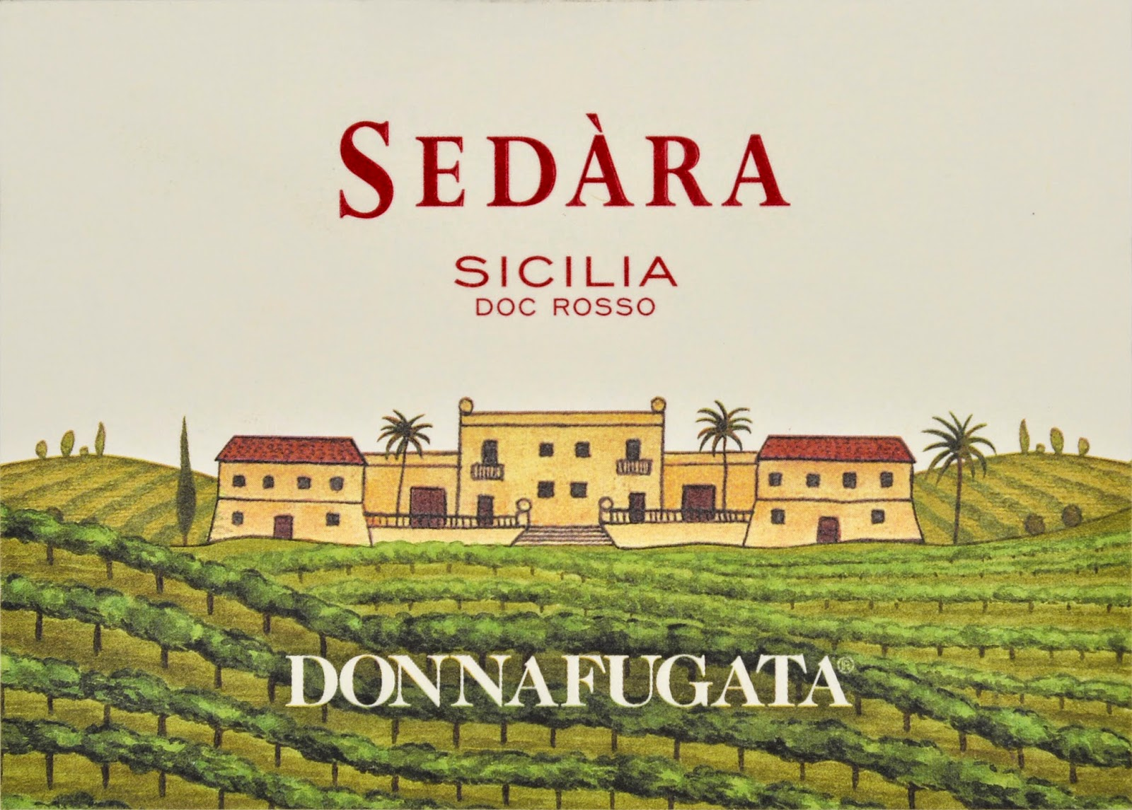 Sedara from Donnafugata Sicily made of nero d'avola