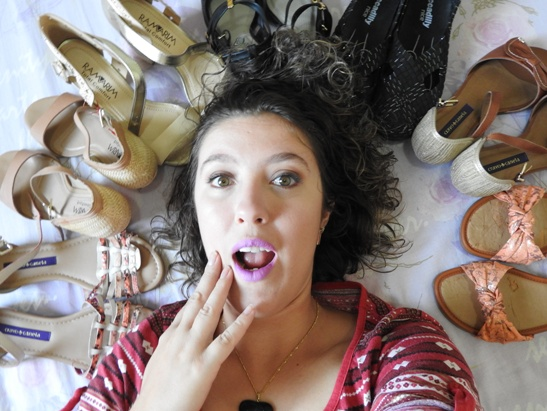 Compras de sapatos - Feira A Barateira