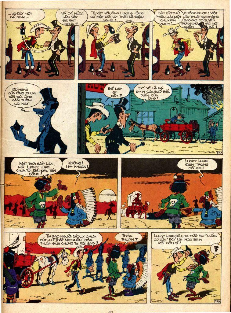 Lucky Luke tap 1 - ban tay nham trang 36