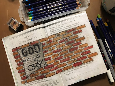 Psalm 10 Bible Journaling Through the Psalms