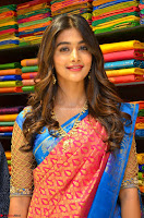 Puja Hegde looks stunning in Red saree at launch of Anutex shopping mall ~ Celebrities Galleries 009.JPG