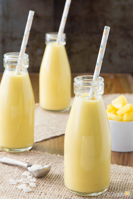 pineapple mango coconut orange smoothie