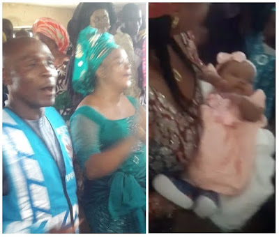 Following 14 years of childlessness, Nigerian couple welcomes baby girl (photographs/video)