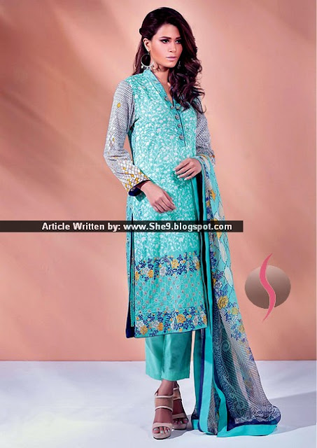 Alkaram Eid Festival Lawn Dress Collection 2015