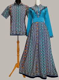 Model Baju Batik Couple Modern Terbaru