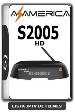 Azamerica S2005 HD nova Atualização Estabilidade de Conexão com os Serviços de IKS V1.09.21658 - 24-06-2020