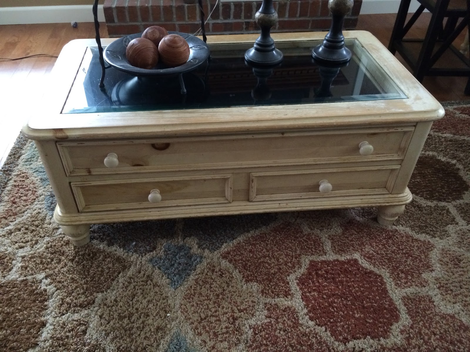 Broyhill Pine Coffee Table