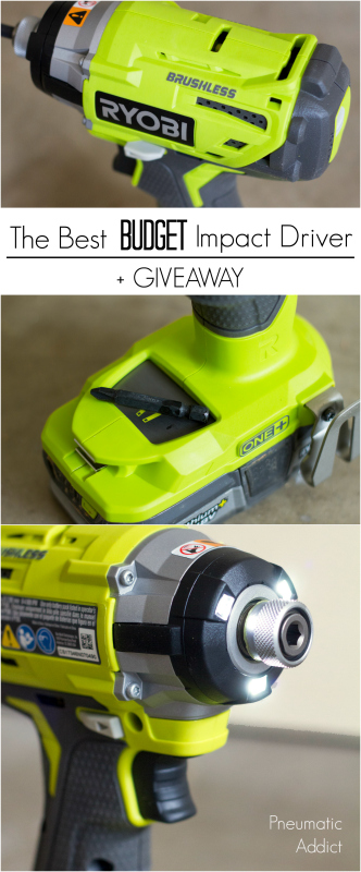 how to cheap inexpensive the best for the money brushless Ryobi impact driver review guide tutorial DIY