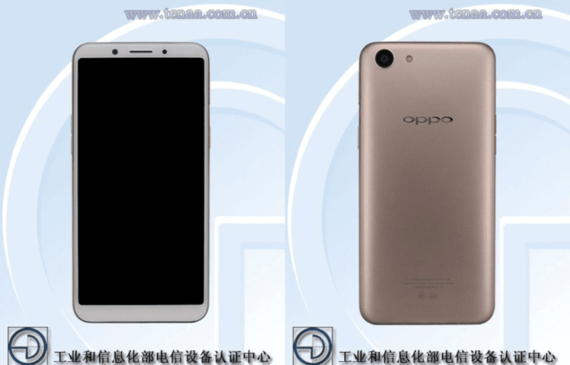 OPPO A85 certified at TENAA China, a budget 18:9 phone soon?